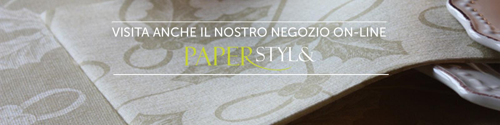 Negozio on-line Paper Style dove potrai trovare altri formati ed articoli a tema