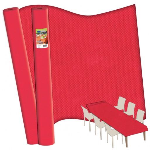 TNT Rosso Rotolo Tovaglia 120x2500 (Rosso) di www.monochic.it Rotoli Monouso