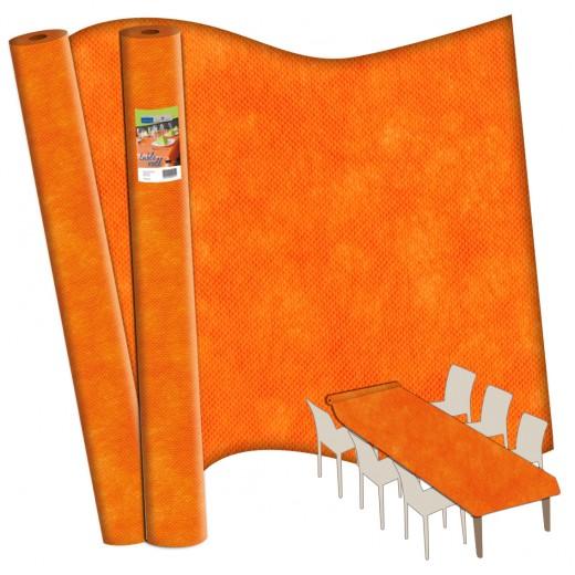 TNT Arancio Rotolo Tovaglia 120x2500 (Arancio) di www.monochic.it Rotoli Monouso