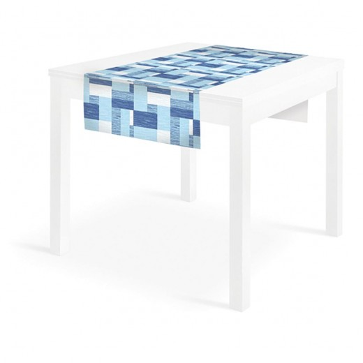 Kuadra Blue Runner 120x48 (Blu) di www.monochic.it Runner Monouso