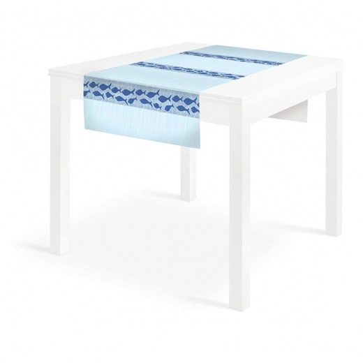 Marea Blue Runner 120x48 (Blu) di www.monochic.it Runner Monouso