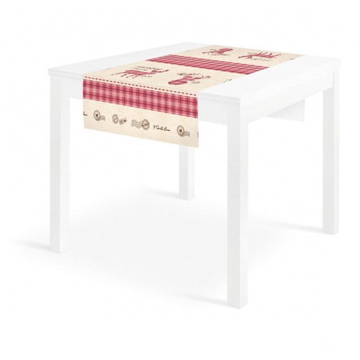 Santa Mail Runner 120x48 (Neutro) di www.monochic.it Runner Monouso