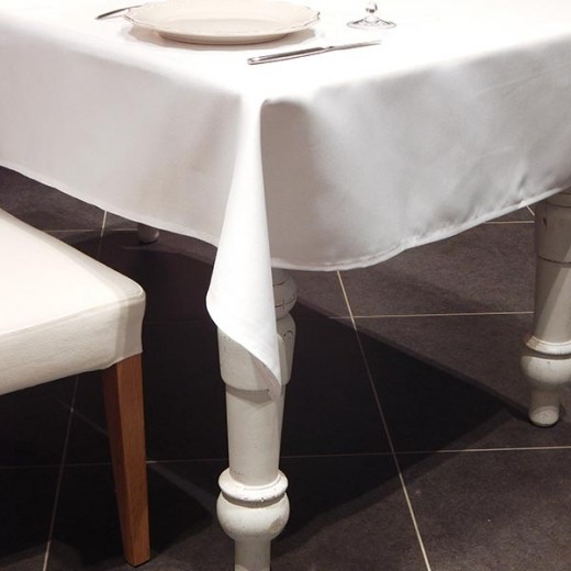 Tovaglia Antimacchia Bianco 120x120 (Tovaglie Antimacchia) di www.monochic.it Tovaglie Antimacchia