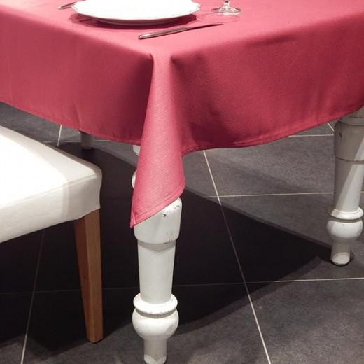 Tovaglia Antimacchia Bordeaux 120x120 (Tovaglie Antimacchia) di www.monochic.it Tovaglie Antimacchia