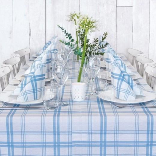 Gourmet Avio Table Set Party (Azzurro) di www.monochic.it Tovagliato Monouso