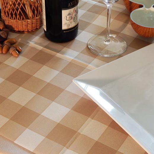 Osteria Nocciola Tovaglia 100x100 (Sagre) di www.monochic.it Tovaglie Monouso