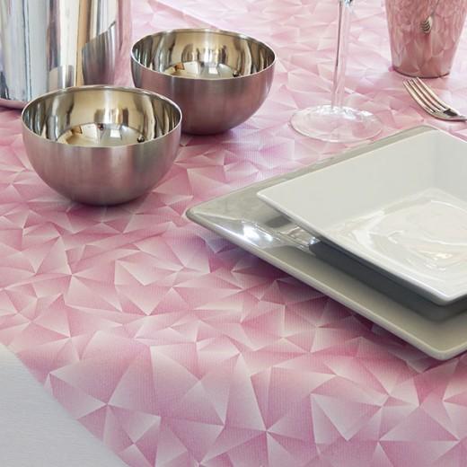 Prism Rosa Tovaglia 100x100 (Novità) di www.monochic.it Tovaglie Monouso