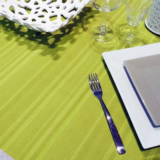 Soul Olio Tovaglia 100x100 (Verde) di www.monochic.it Tovaglie Monouso