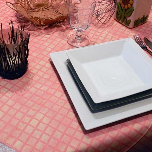 Tablo Rosso Tovaglia 100x100 (Rosso) di www.monochic.it Tovaglie Monouso
