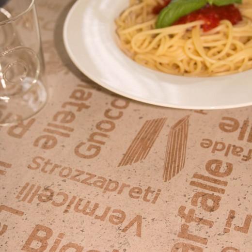 Tovaglietta Pasta Avana35x50 Cartapaglia (Neutri) di www.monochic.it Tovagliette Monouso