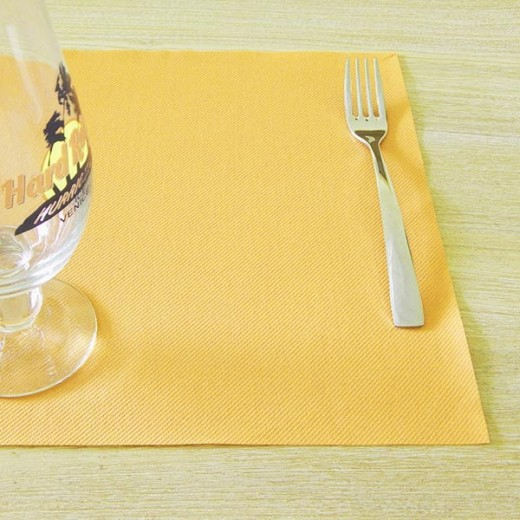 Tinta Unita Ambra Tovaglietta 30x40 (Giallo) di www.monochic.it Tovaglie Monouso