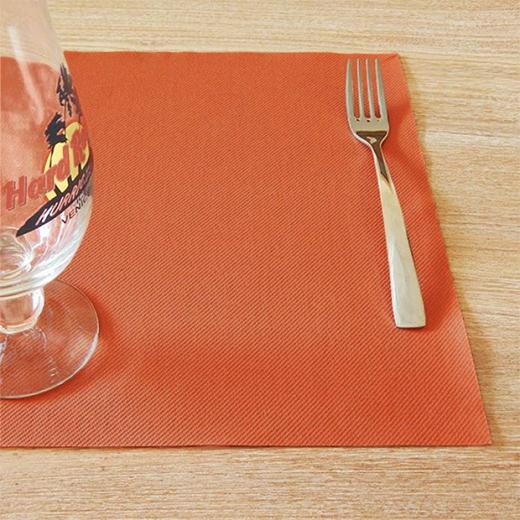 Tinta Unita Terracotta Tovaglietta 30x40 (Arancio) di www.monochic.it Tovaglie Monouso