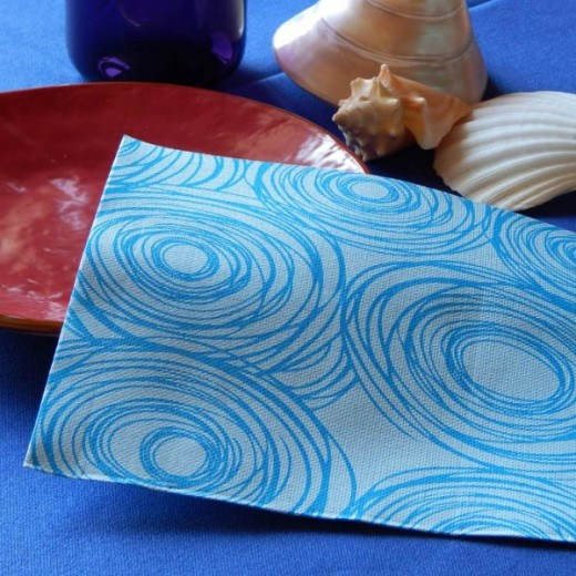 Bolas Due Veli Cellulosa Mare Tovagliolo 40x40 (Mare) di www.monochic.it Tovaglioli Monouso