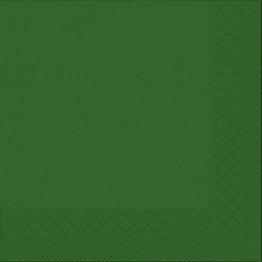 Due Veli Cellulosa Verde con Goffratura Tovagliolo 33x33 (Verde) di www.monochic.it Tovaglioli Monouso