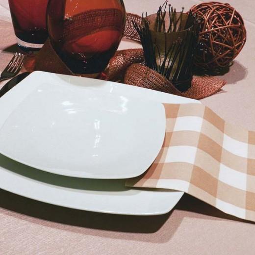 Osteria Nocciola Tovagliolo 40x40 (Sagre) di www.monochic.it Tovaglie Monouso