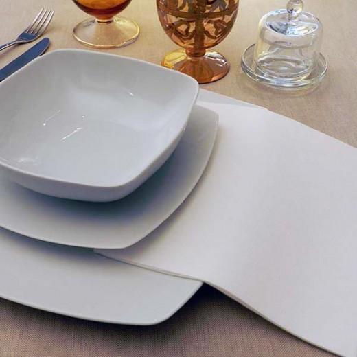 Micro Bianco Tovagliolo 44x44 (Cerimonie) di www.monochic.it Tovaglie Monouso